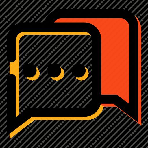chat, chatting, communication, massage, talking icon