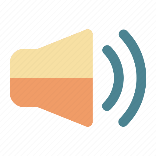audio, communication, internet, speaker icon