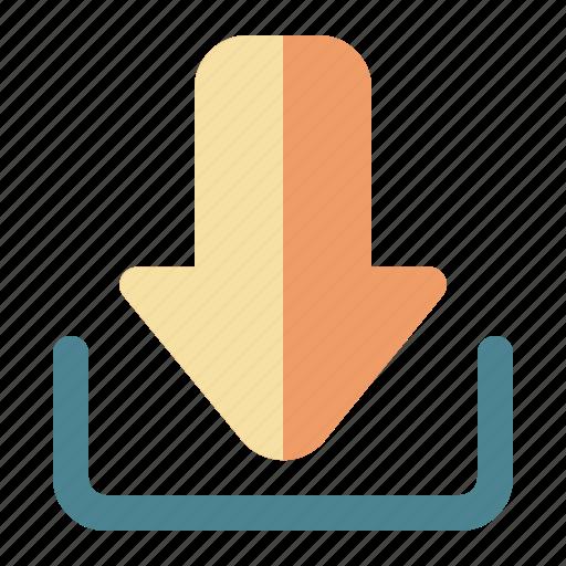 communication, download, internet icon