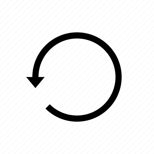 loading, refresh, undo icon