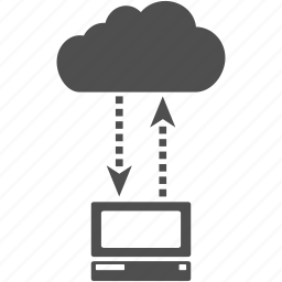cloud, communication, computer, connection, internet, network, web icon