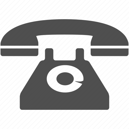 dial, old, phone, telephone icon