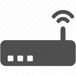 communication, connection, modem, router, wifi, wireless icon