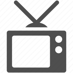 display, monitor, mpnitor, screen, television, tv icon