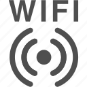 internet, radio, signal, wifi, wireless icon
