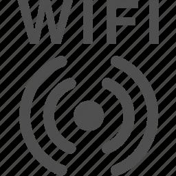 internet, radio, signal, wifi, wireless icon