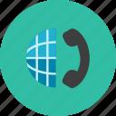 globe, phone