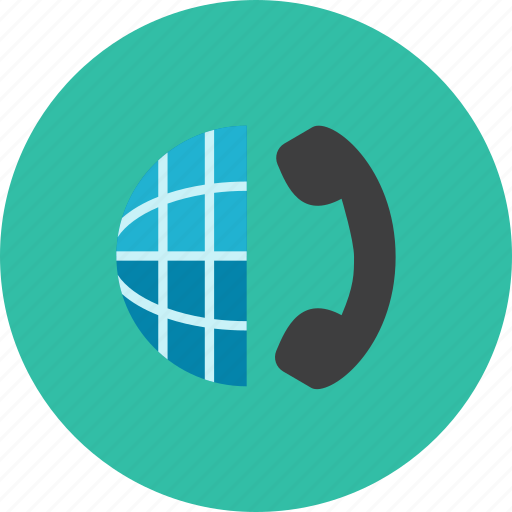 Globe, phone icon - Download on Iconfinder on Iconfinder
