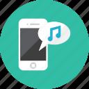 music, smartphone