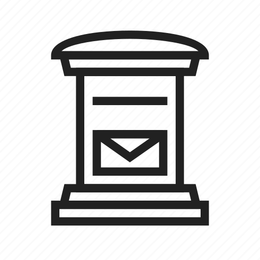 communication, letter, letter box, mail, post, post box, postman icon