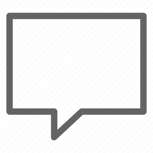 chat, comment, message, text icon