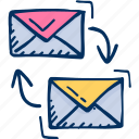 advertising, affiliate, campaigns icon, email, marketing icon