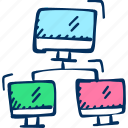 communication, networking, sharing icon