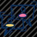 consulting, customer, feedback icon