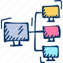 computer, network, pc icon icon