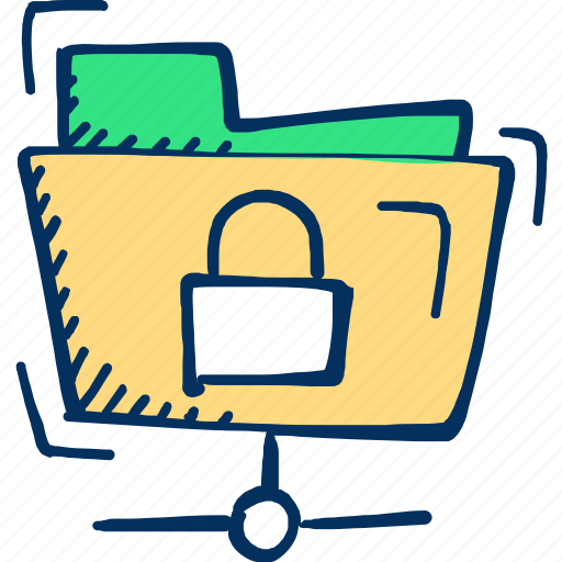 Folder, archive, security icon, document icon - Download on Iconfinder