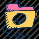folder, share, sharing icon icon