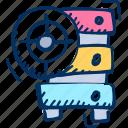 data center, server, storage, target icon icon