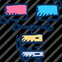 connection, data, internet, monitors, network, server, web