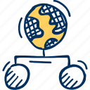affiliate, affiliation, global, global network, globe, online, share icon