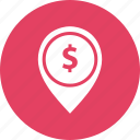 map, media, money, notification icon