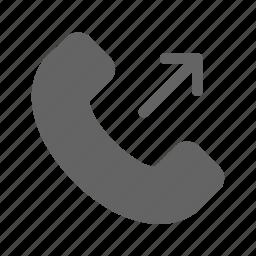 call, outcoming, phone icon