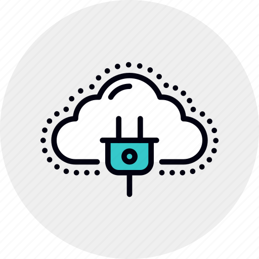 Cloud, computing, connection, energy, network, power, server icon - Download on Iconfinder