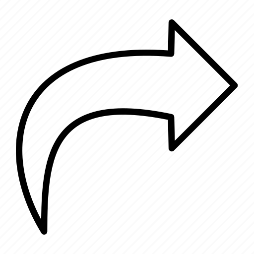 forward, forward mail, mail, mail forward icon