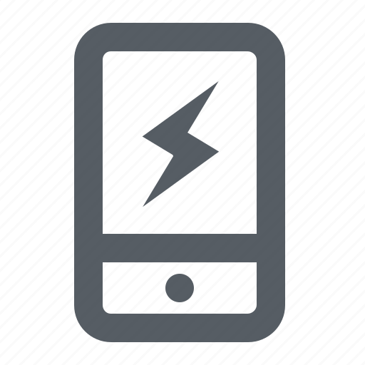 charge, communication, mobile, phone icon