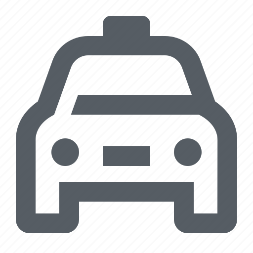 cab, car, taxi, traffic, transportation, travel icon