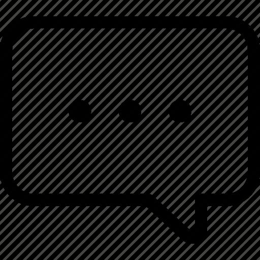 chat, communicate, communication, message, waiting icon