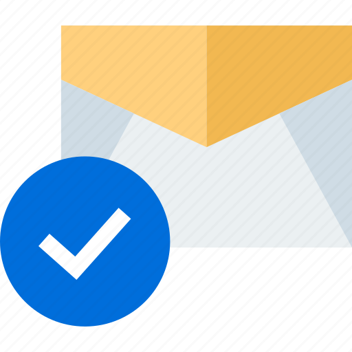 check, email, mark icon
