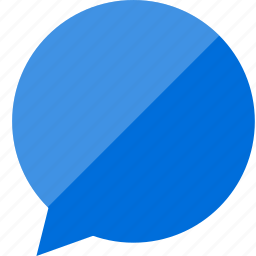 bubble, chat, facebook icon