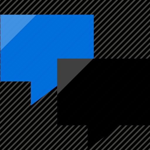 Messenger, talk icon - Download on Iconfinder on Iconfinder
