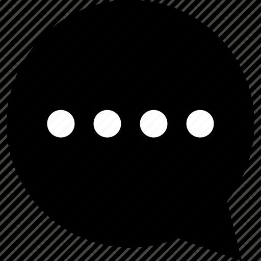 communication, load, sms, talk icon