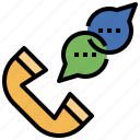 arrow, call, interface, phone, receiver, telephone, up