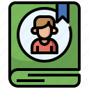 arrow, call, contacts, interface, receiver, telephone, telephones icon