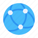 communication, connection, globe, information, internet, message, network icon