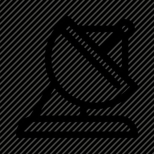 antenna, communication, information, message, radar, satellite, space icon