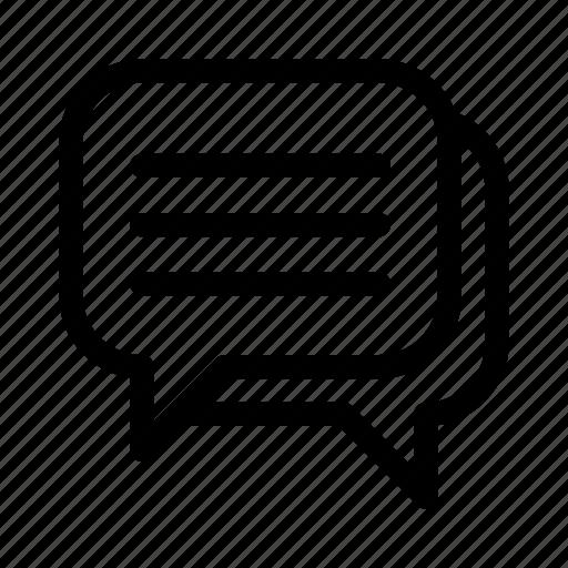 bubble, chat, comment, communication, conversation, information, message icon