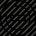 block, error, prohibited, sign, unavailable icon