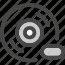 audio, cd, disc, loading, music, progress, record icon