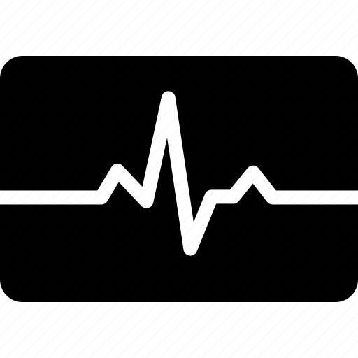 beat, ecg, ekg, heart, heartbeat, monitor, pulse icon