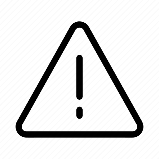 Alert, attention, danger, error, warning icon - Download on Iconfinder