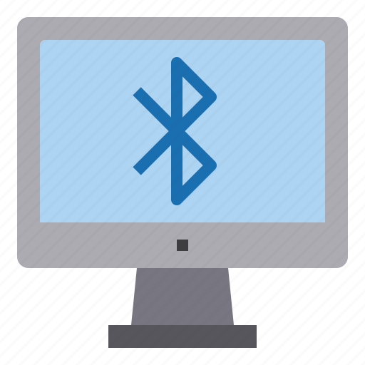 bluetooth, computer, interface, technology icon