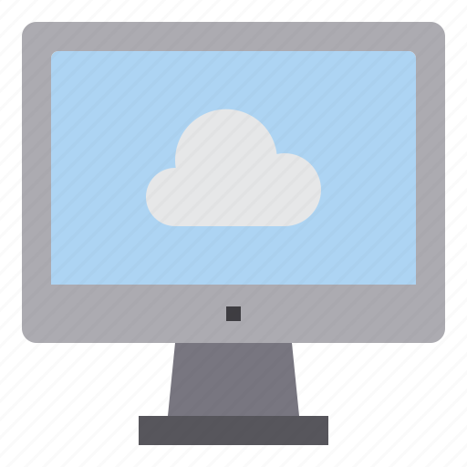 cloud, computer, interface, technology icon