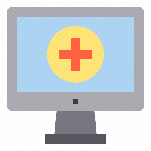 computer, health, hospital, interface, technology icon