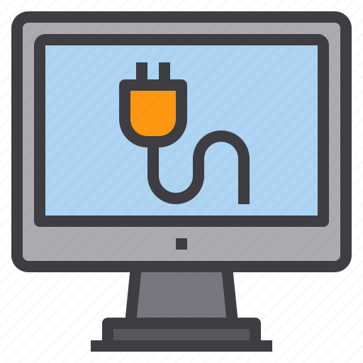 charge, computer, interface, technology icon
