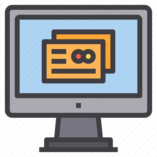 card, computer, credit, interface, payment, technology icon
