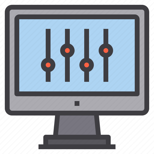computer, interface, setting, technology icon
